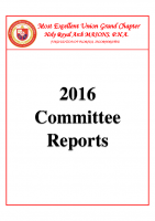 MEUGC 2016 Committee Reports Packet