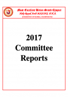 MEUGC 2017 Committee Reports Packet